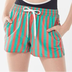 UO Eve Striped Shorts